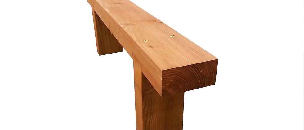 "Pine Sleeper Bench (10"" x 4"")"