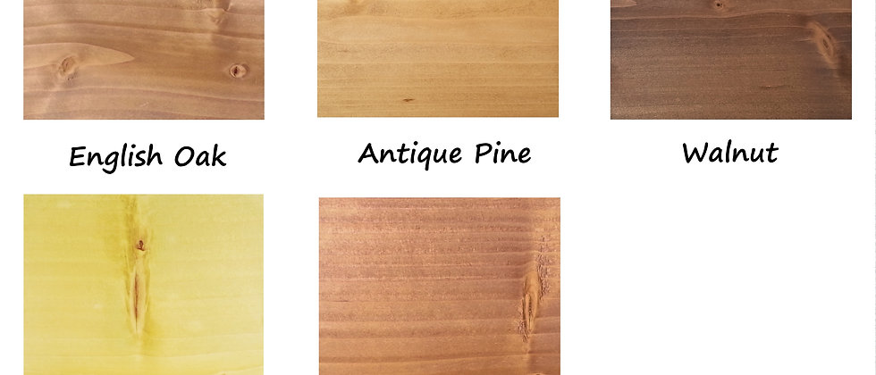 Pine Stain Colour Sample