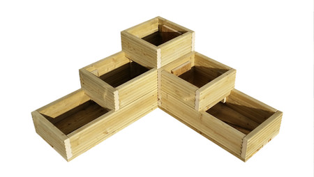 Decking 3-Tier Planter