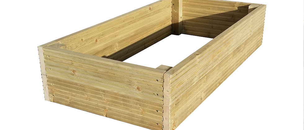 Rectangle Decking Raised Beds
