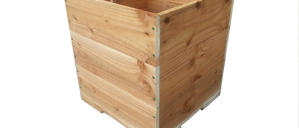 Rough Sawn Box Planter