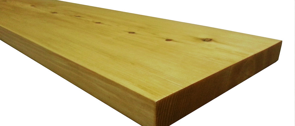 17cm Red Wood Floating Shelf (20mm)
