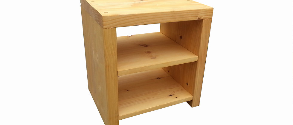 Carrillo Side Table (Double Shelf)