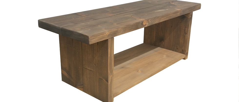 Deford Rustic Coffee Table