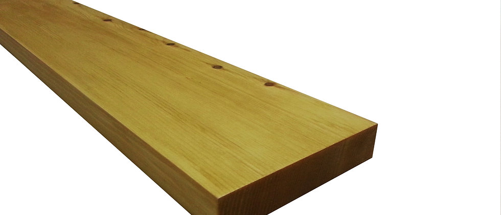 10cm Red Wood Floating Shelf (20mm)