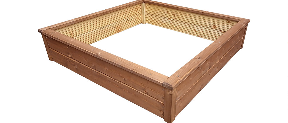 Caraway Square Decking Raised Beds