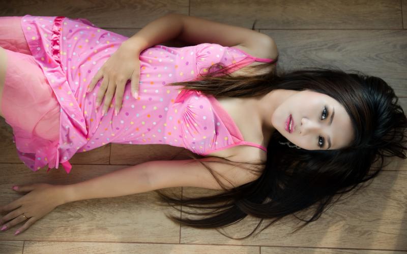 Beautiful asian woman laying on floor | Dating with Fawn | Philadelphia, PA, USA