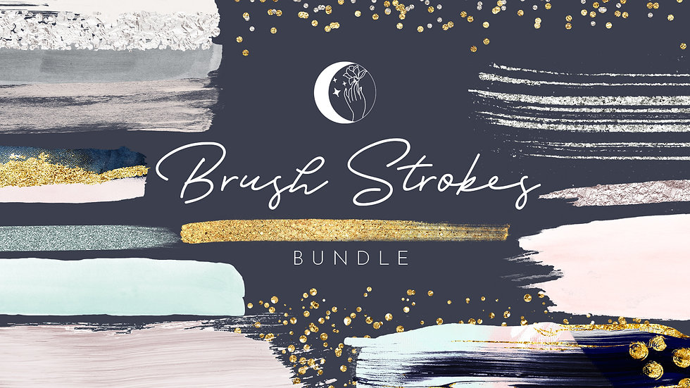 brush strokes, watercolor clip art, branding, logo, designer, clip art, stickers, beautiful design, pattern, abstract