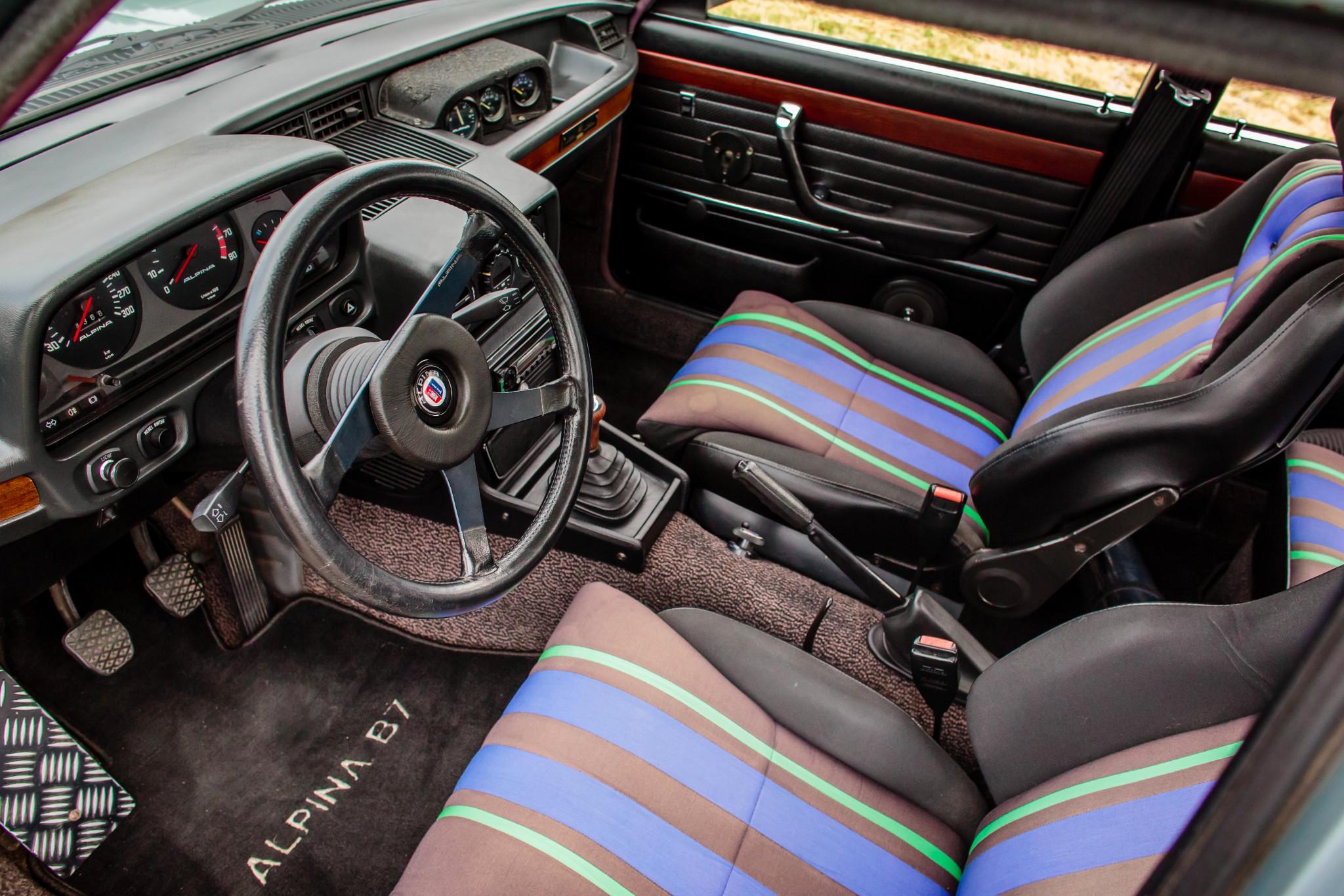 BaT interior