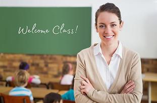 Ohio STRS Teacher in Classroom