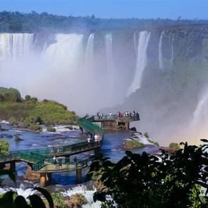 Cataratas do Iguaçu é 2ª queda d'água mais popular do mundo