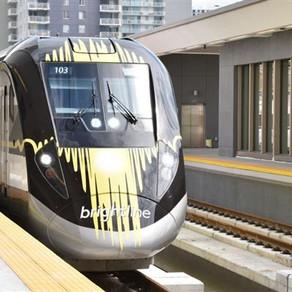 Trem entre Miami e Orlando terá estação em Disney Springs
