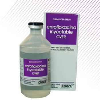 ENROFLOXACINA INYECTABLE OVER