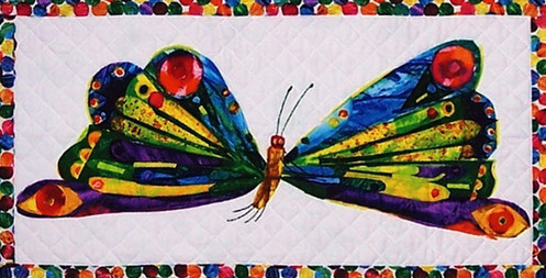 Hungry Caterpillar butterfly detail
