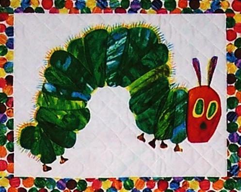 Hungry Caterpillar detail