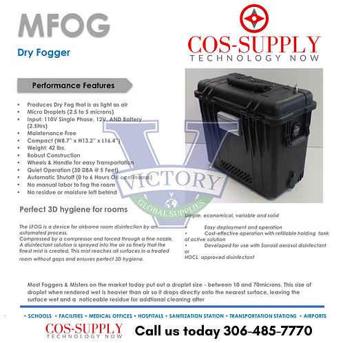 MFOG Dry Fogger - Disinfectant System - COVID 19