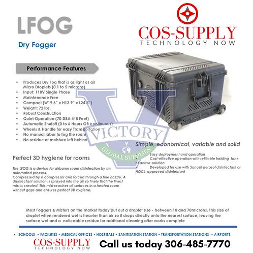 LFOG System - Disinfectant Fogger - COVID 19