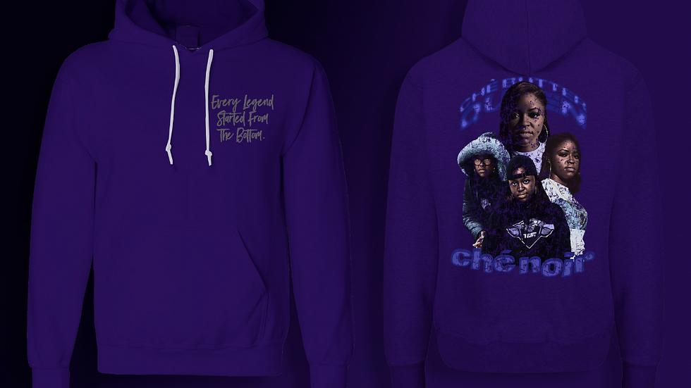 Purple Che` Butter Queen Hoodie