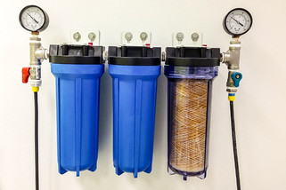 3 фильтра грубой очистки