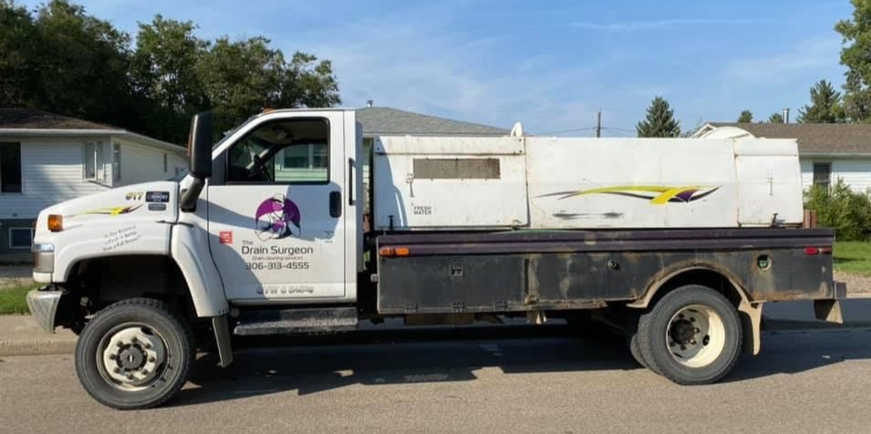 This is the vehicle that allows us to do affordable sewer cleanings in Moose Jaw