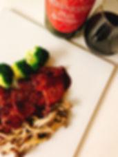 豚肉の赤ワインソース.jpg