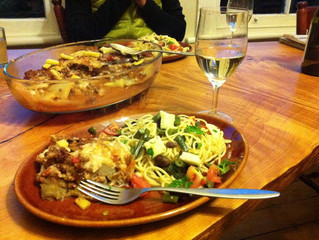 ギリシア料理とピノグリ