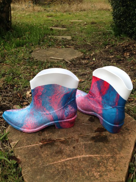 Marble Wellies