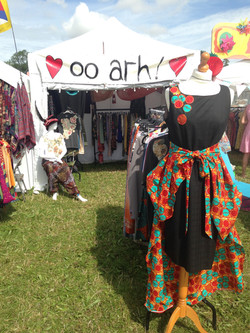 WOMAD 2016 stall front