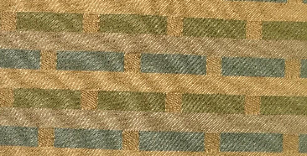 Block Stripe - Blue Green Yellow