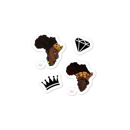 African Queens Stickers