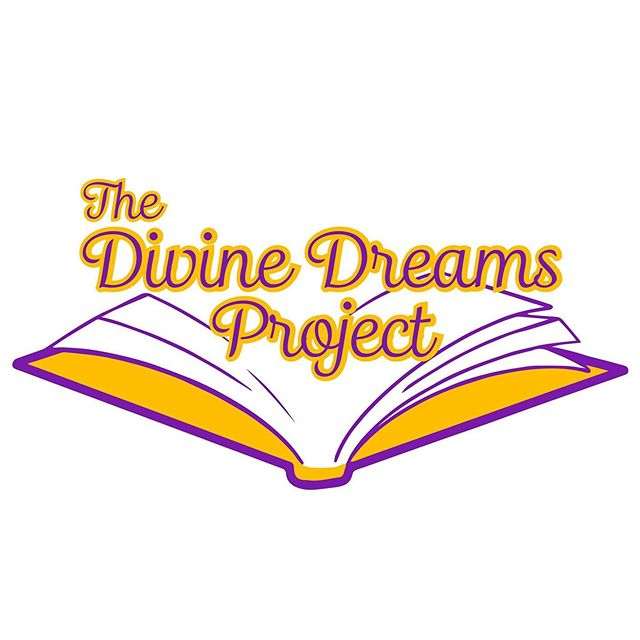 The Divine Dreams Project logo design 💛