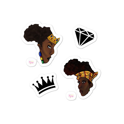 African Queens Stickers