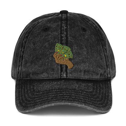 Money Vintage Cotton Twill Cap