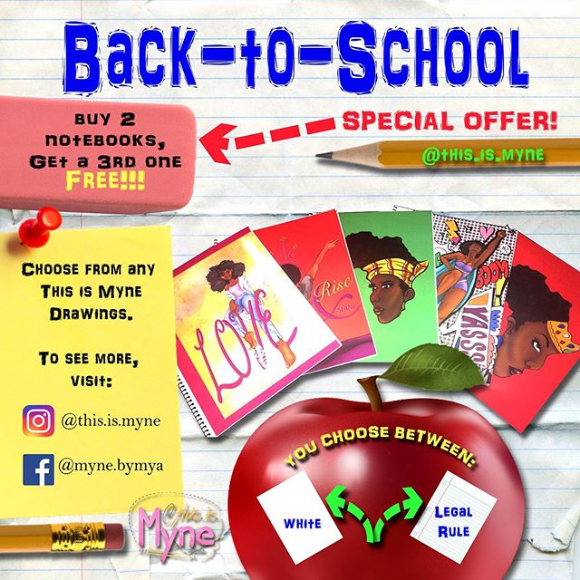 Back-to-School Deal! Get 3 notebooks for