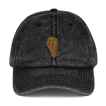 BLM Vintage Cotton Twill Cap