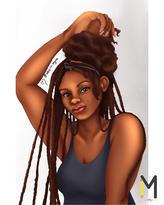 I kinda want braids 🤔💕 'Doing Hair' Po