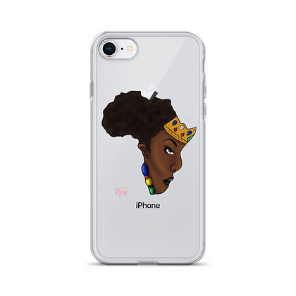 African Queen 2 iPhone Case