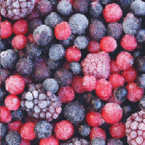 Frutas Vermelhas - 1,200 Kg.