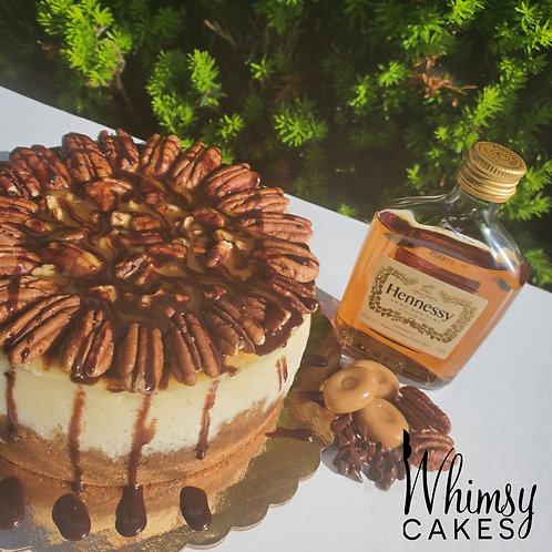 Hennessy Turtle Cheesecake