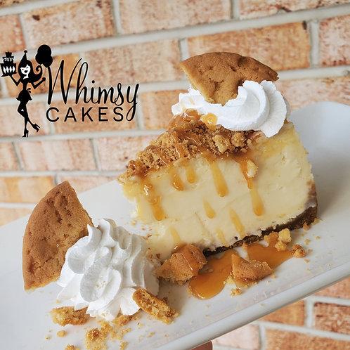 Buttercrunch cookie Cheesecake