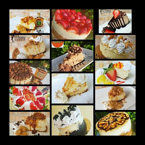 Assorted cheesecake
