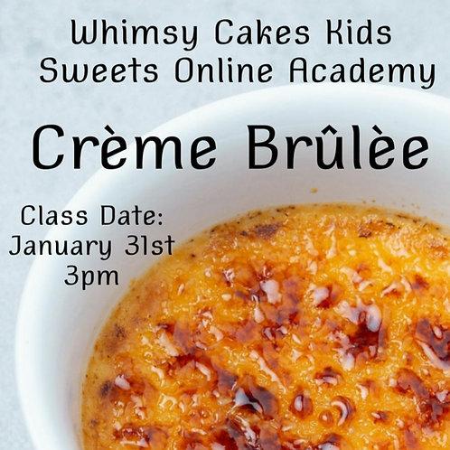 Crime Brûlèe online class
