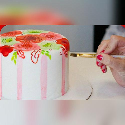 Cupcake & Paint Cake fun