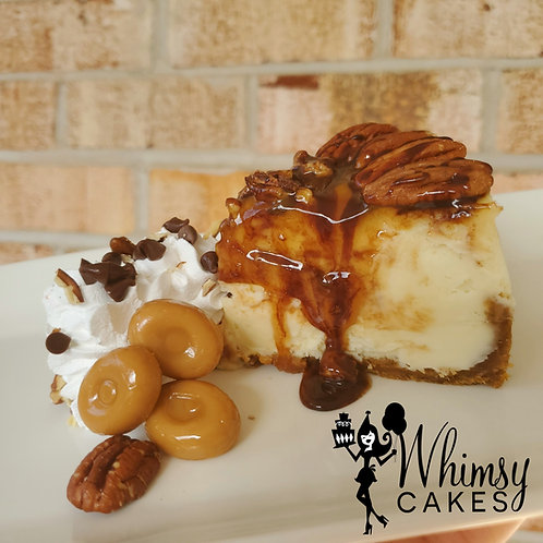 Turtle Cheesecake with out liqour