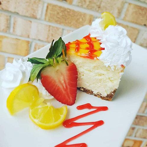Strawberry lemonade cheesecake