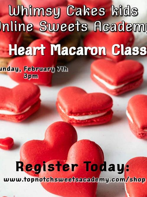 Heart Macaron Class