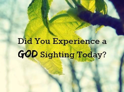 God-sighting