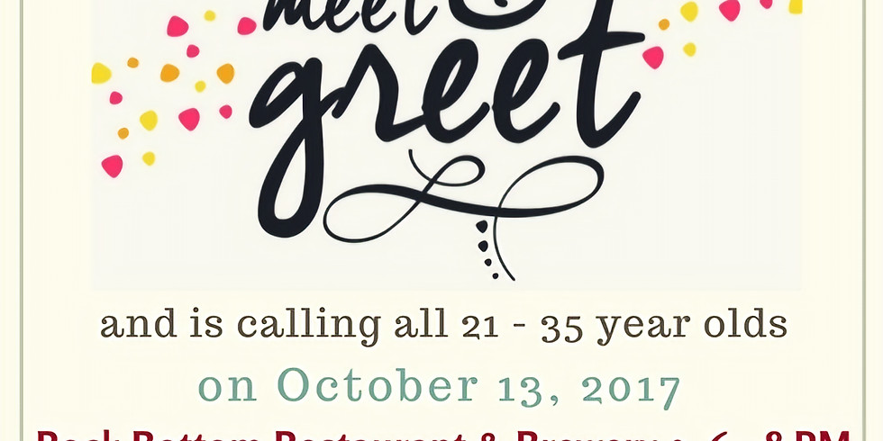 LCR YOUNG ADULTS MEET & GREET!