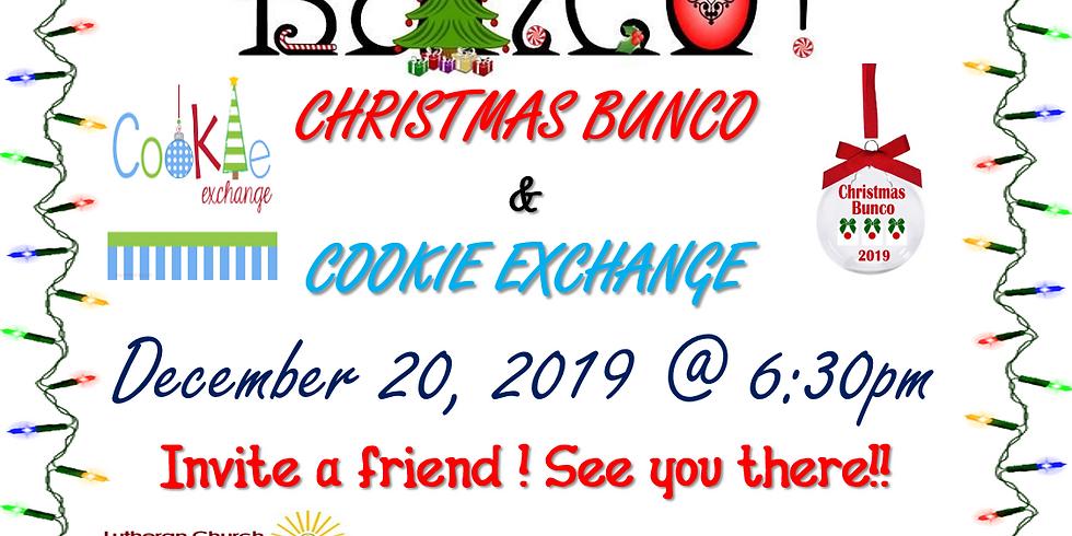 CHRISTMAS BUNCO & COOKIE EXCHANGE