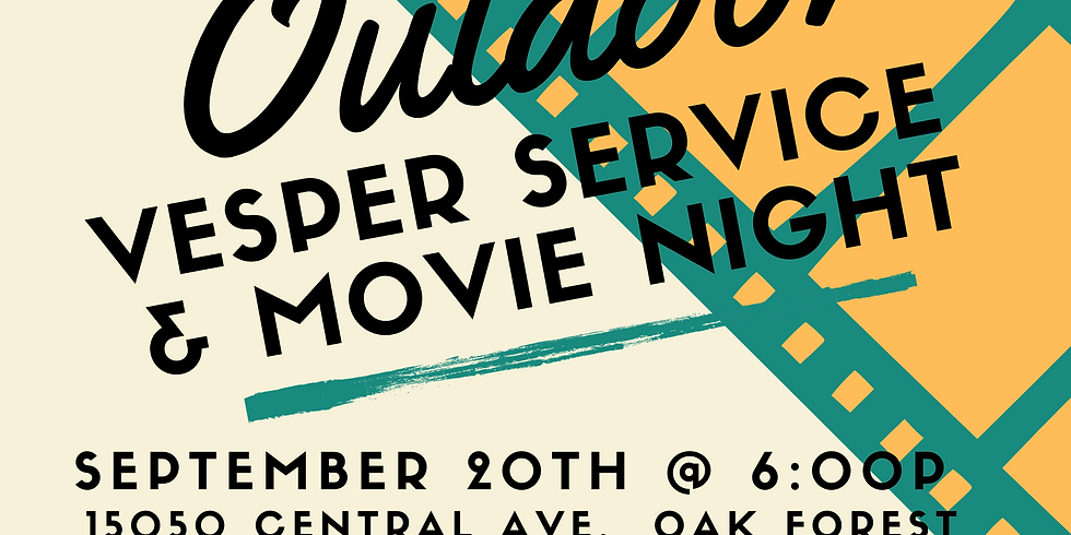 Rally day Kick-Off Vesper service & Movie night